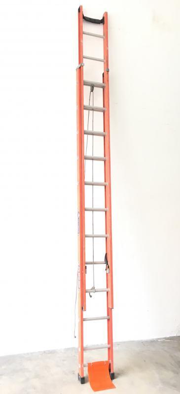 Escada extensível fibra de vidro